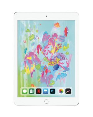 """Apple iPad 6th Gen 32GB Silver Unlocked Grade A """"Excellent"""""""