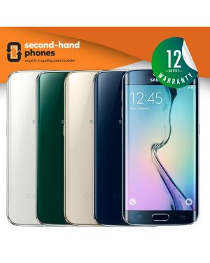 Samsung S6 Edge - 32GB 64GB 128GB - All Colours - UNLOCKED Fully Tested & Working
