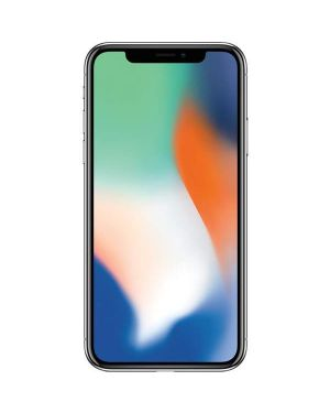 Apple iPhone X 64Gb Silver Factory Unlocked Good