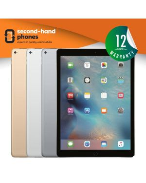 Apple iPad Pro 12.9 - 32GB 128GB 256GB - Grey/Silver/Gold - UNLOCKED Fully Tested & Working