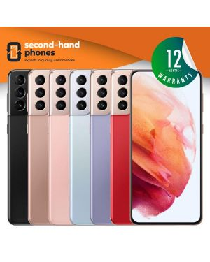 Samsung Galaxy S21 Plus 5G Dual Sim - 128GB 256GB - All Colours - UNLOCKED Fully Tested & Working