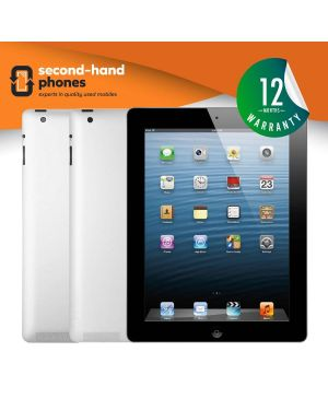 Apple iPad 4 - 16GB 32GB 64GB 128GB - Black/White - UNLOCKED Fully Tested & Working
