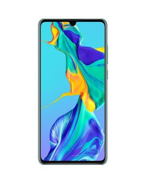 Huawei P30 Dual Sim ELE-L29 2019 128Gb Aurora Blue Unlocked Very Good