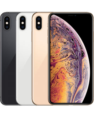 Second Hand Refurbished Apple iPhone XS Max - 64GB 256GB 512GB - Silver/Grey/Gold - UNLOCKED Fully Tested & Working