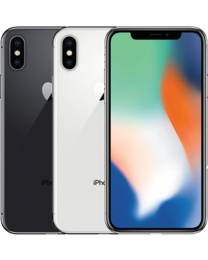 Second Hand Refurbished Apple iPhone X - 64GB 256GB - Silver/Grey - UNLOCKED Fully Tested & Working