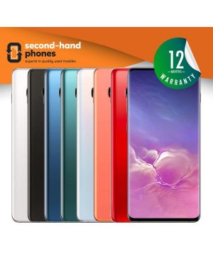 Samsung Galaxy S10 Plus G975DS 2019 Dual Sim~128GB 512GB 1TB~All Colours~UNLOCKED Fully Tested & Working