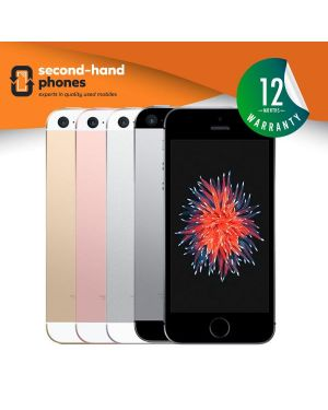 Apple iPhone SE - 16GB 32GB 64GB 128GB - All Colours - UNLOCKED Fully Tested & Working