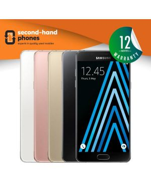 Samsung A5 A510F 2016 Dual Sim - Black/Gold/White - UNLOCKED Fully Tested & Working