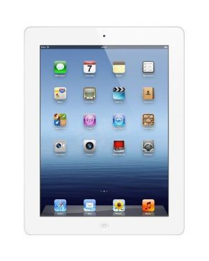 Apple iPad 3 64GB White Factory Unlocked Good