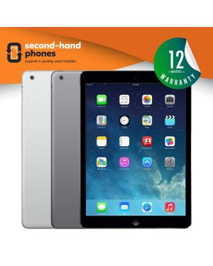 Apple iPad Air - 16GB 32GB 64GB 128GB - Grey/White - UNLOCKED Fully Tested & Working