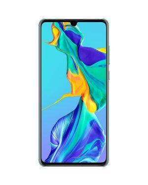 "Huawei P30 ELE-L09 2019 128GB Aurora Blue Unlocked Grade B ""Very Good"""