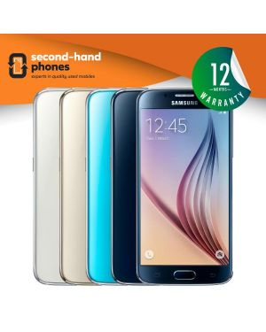 Samsung S6 - 32GB 64GB 128GB - All Colours - UNLOCKED Fully Tested & Working