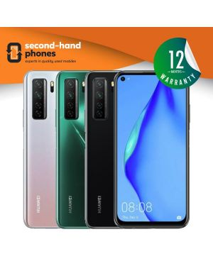 Huawei P40 Lite 5G (2020) - Green/Silver/Black - UNLOCKED Fully Tested & Working