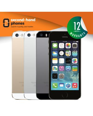 Apple iPhone 5S - 16GB 32GB 64GB - Grey/White/Gold - UNLOCKED Fully Tested & Working