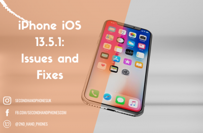 iPhone iOS 13.5.1: Issues and Fixes