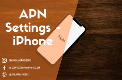 APN Settings - iPhone